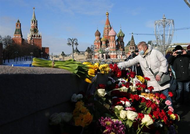 Boris Nemtsov sköts till döds på en bro ett stenkast från Kreml 2015.