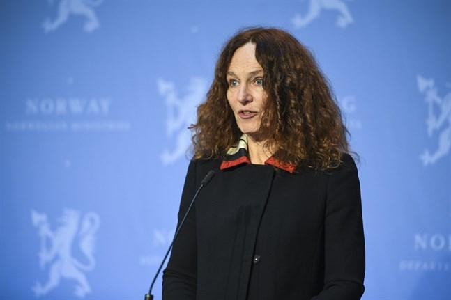 Det norska Folkehelseinstituttets generaldirektör Camilla Stoltenberg. Arkivbild.