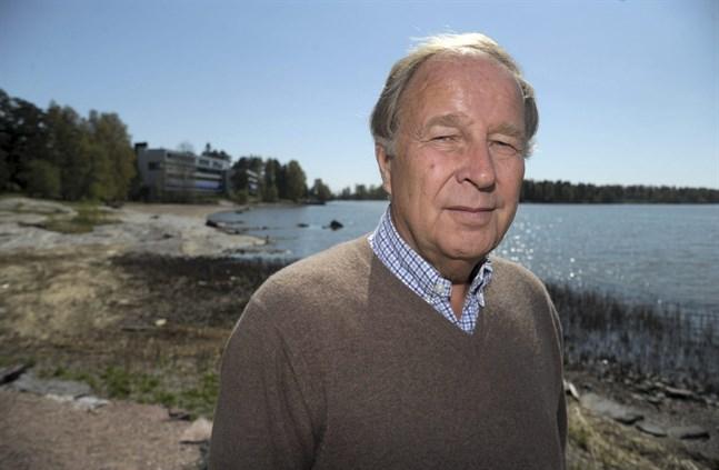 Hannu Mikkola. Bilden är tagen i Helsingfors 2012.