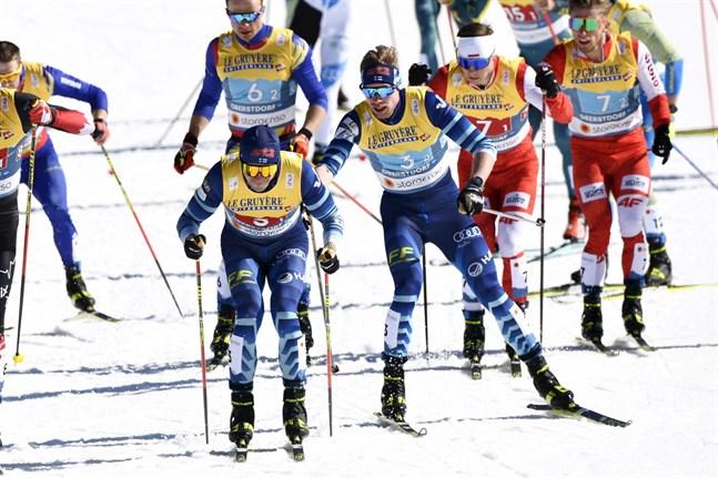 Ristomatti Hakola och Joni Mäki fick bita på naglarna under det andra kvalheatet.