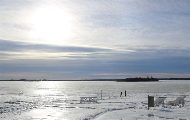 I Vasa uppmättes 7,5 plusgrader som högsta temperatur under helgen.