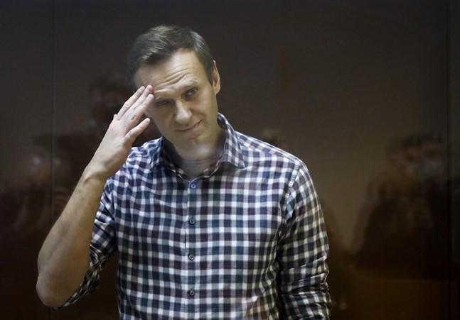 USA inför sanktioner mot ryska företrädare på grund av förgiftningen av den den ryske oppositionspolitikern Alexei Navalny förra året. Arkivbild från februari.