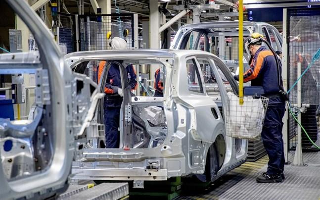 Volvo Cars fabrik i Torslanda är en stor arbetsgivare i området.