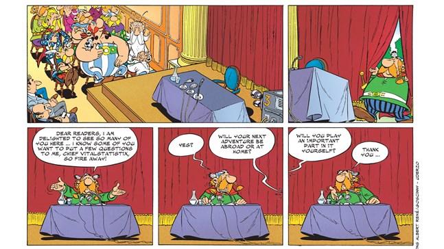 Asterix kommer till Netflix.