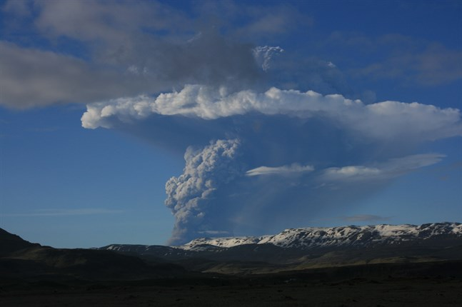 Ett vulkanutbrott kan vara nära förestående på Island.