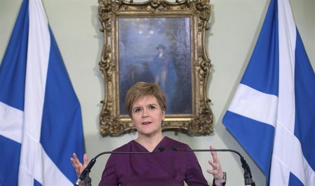 I dag frågas Skottlands försteminister Nicola Sturgeon ut gällande sexbrottanklagelserna mot den tidigare ledaren och partikamraten Alex Salmond. Arkivbild.