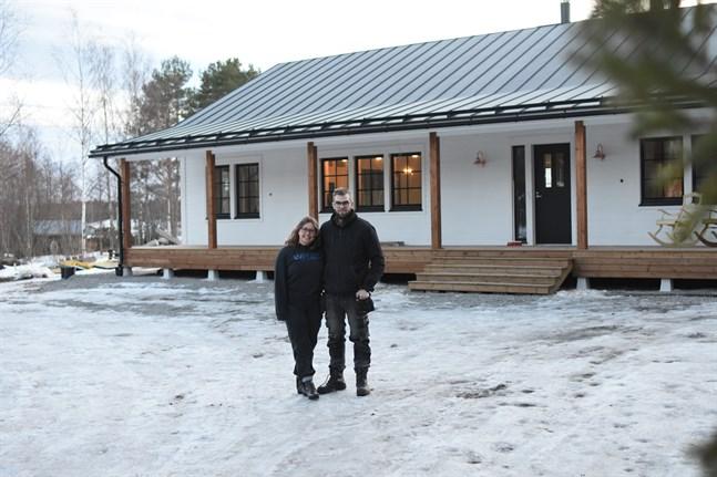 Julia Nummela och Jimmy Häggqvist är nöjda med vad de åstadkommit och oerhört tacksamma för all hjälp de fått av vänner och familj.