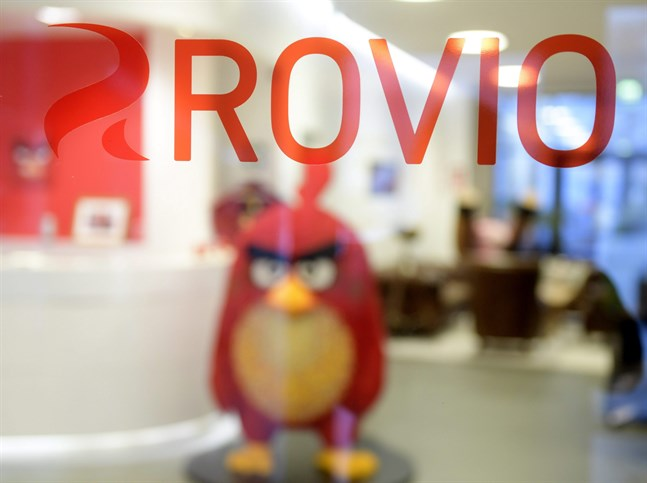 Angry Birds är Rovios succéspel.