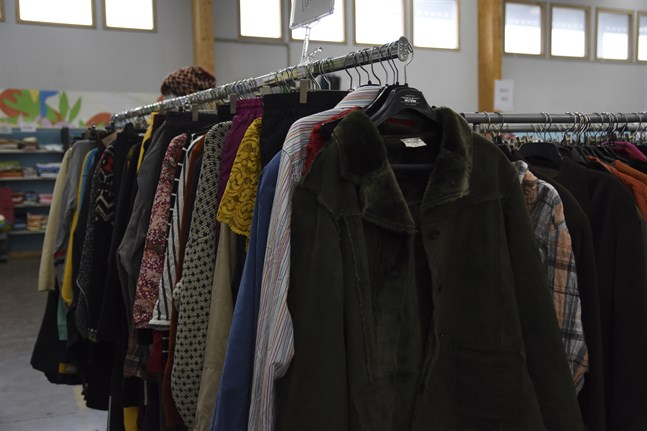 Textilbranschen är en av de branscher där den cirkulära ekonomin redan syns väl. Arkivbild.
