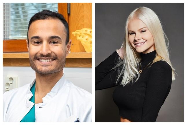 Rahul Raj och Jennifer Käld är två av de 35 påverkare under 35 som finns på HS Visios topplista.