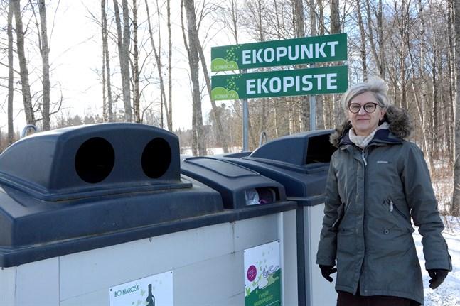 Det har hänt mycket på några decennier, konstaterar Merja Rosendal, verkställande direktör på Botniarosk. I fjol återvanns 99,4 procent av sydösterbottningarnas avfall.