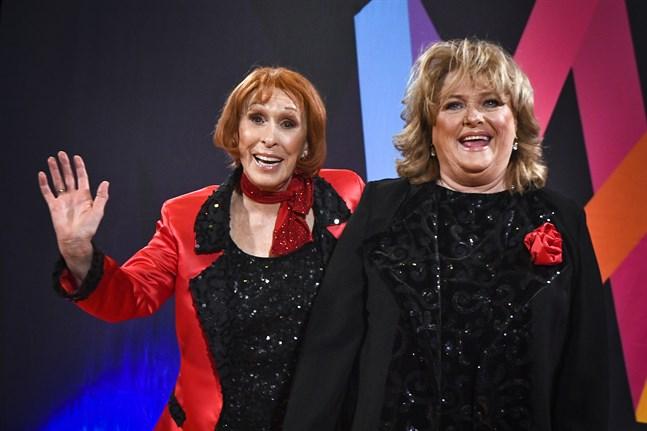 Eva Rydberg & Ewa Roos tävlar med låten
