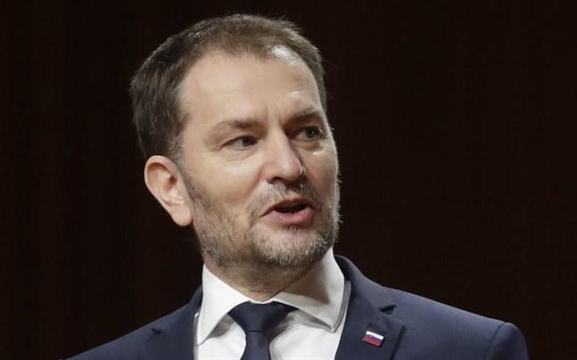 Slovakiens premiärminister Igor Matovic.