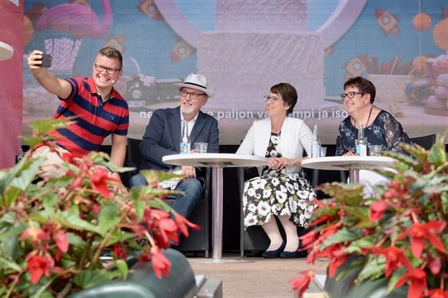 Årets upplaga av Finlandsarenan satsar på hybridevenemang.