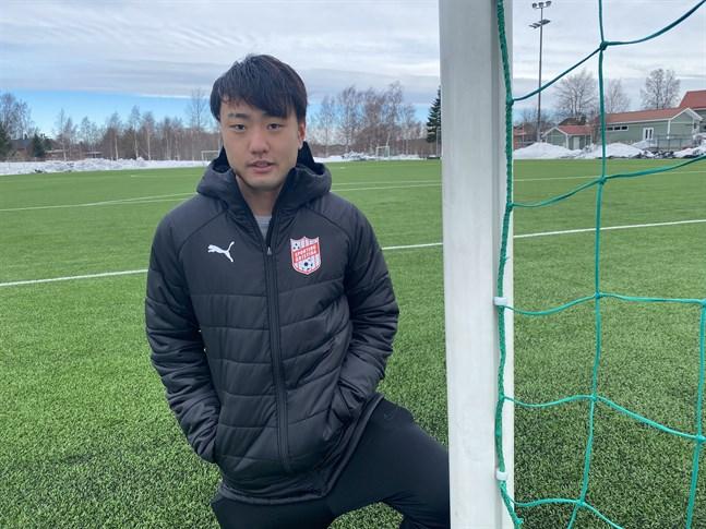 Japanen Ryoto Maeda kan bli Sportings nya mittfältsmotor. Han testas för tillfället av Kristinestadslaget.