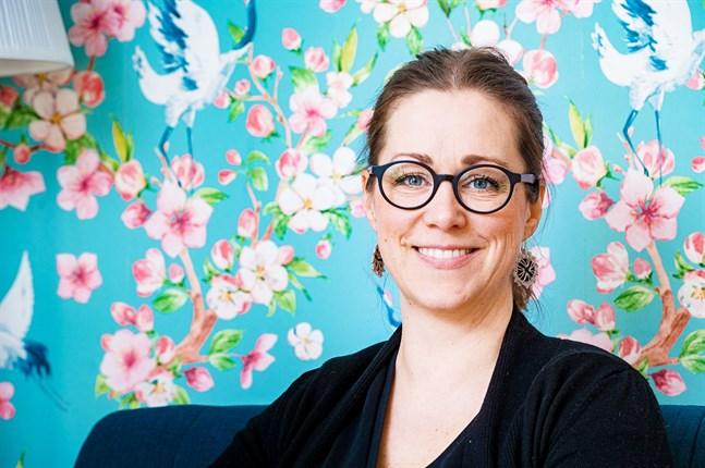 Malin Klingenberg är aktuell med tre nya lättlästa barnböcker.