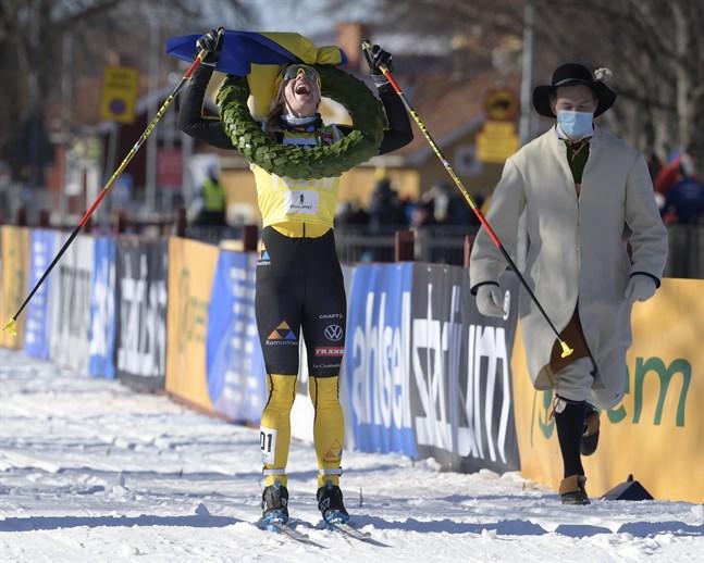Lina Korsgren vinner Vasaloppet på söndagen. Det är hennes tredje seger.