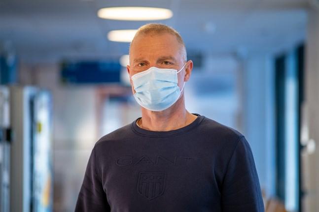 Chefsöverläkare Peter Nieminen på Vasa centralsjukhus.