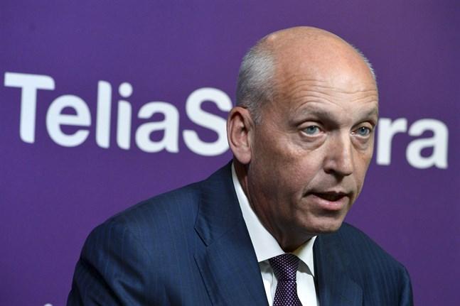 Lars Nyberg var vd för dåvarande Telia Sonera (nu Telia Company) mellan 2007 och 2013.
