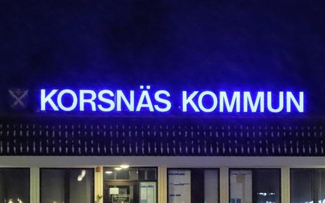 I en liten kommun som Korsnäs har kommunen ett stort ansvar för samhällsutvecklingen, anser skribenten.