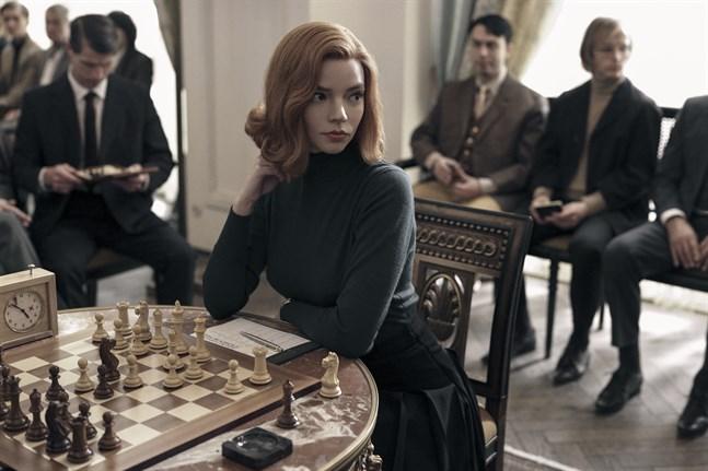 "Anya Taylor-Joy spelade Beth Harmon i Netflixserien ""The queen's gambit."""