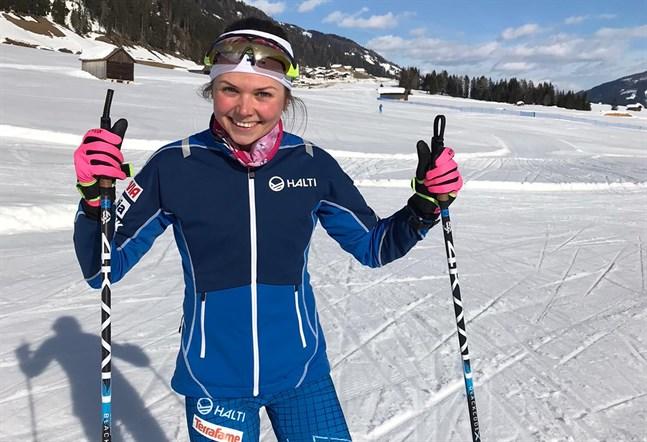 Det blev ett nytt bra lopp för Heidi Kuuttinen i IBU-cupen i Österrike.
