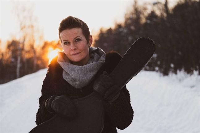 Désirée Saarela-Portin är projektledare för det nya folkmusikcentret vid Lappfjärds folkhögskola.