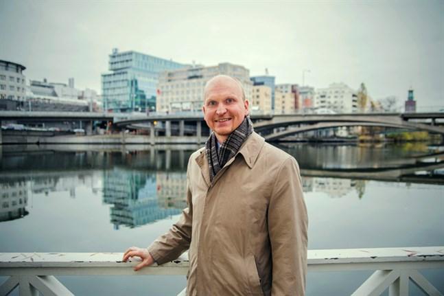 Mika Hakosalo är Vasas stads nya energi- och klimatexpert.