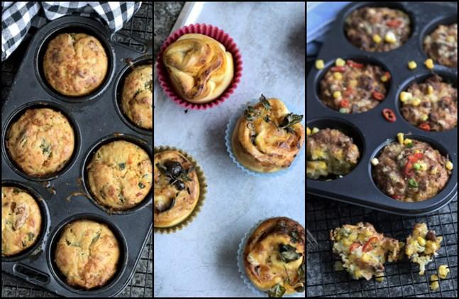 Matmuffins är den perfekta kompromissen mellan bakverk och mat.