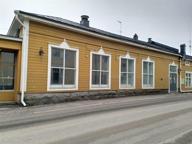 I det som ska bli nytt café i Corner fanns senast Medhelps callcenter.