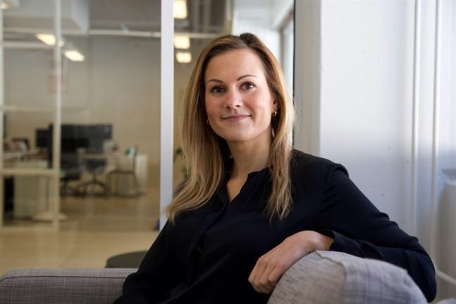Hanna Salo, key account manager på Gambit, säger att det är viktigt att värdegrunden överensstämmer med arbetskulturen.