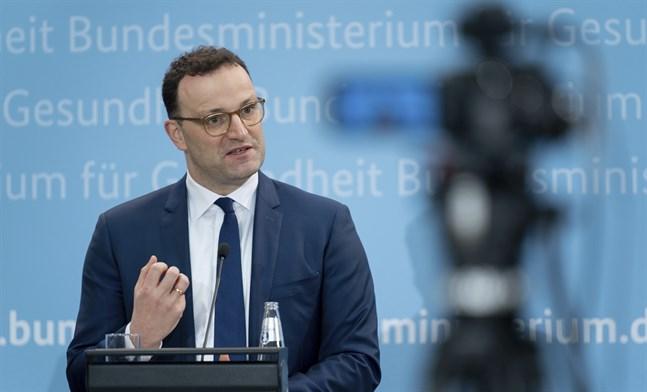 Tysklands hälso- och sjukvårdsminister Jens Spahn.