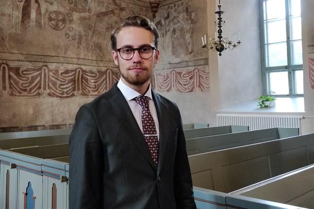 Hannes Uunila studerar för tillfället kyrkomusik på Sibelius-Akademin i Helsingfors.