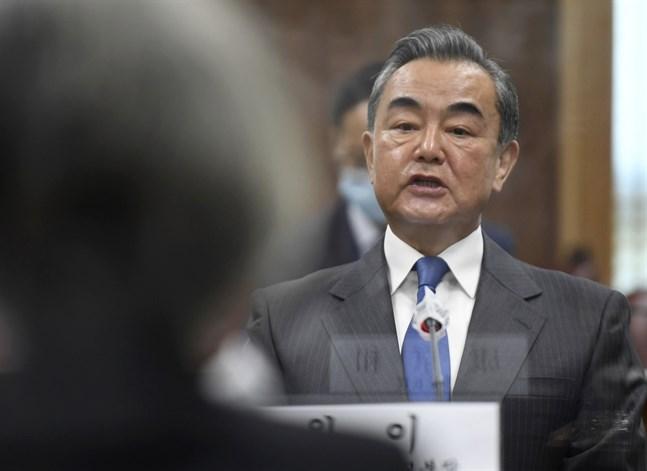 Kinas utrikesminister Wang Yi har rest till Iran för att underteckna samarbetsavtalet. Arkivbild.
