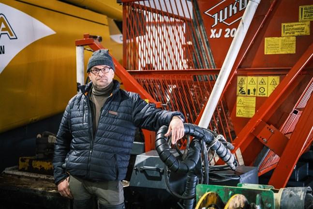 Sucros tar emot alla betor från odlarna som har kontrakt, säger Fredrik Ström.