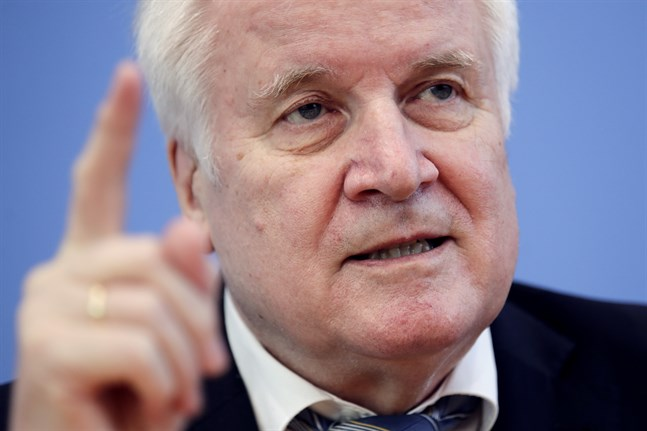 Tysklands inrikesminister Horst Seehofer.