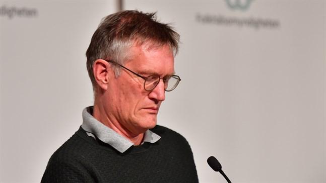 Anders Tegnell, statsepidemiolog på Folkhälsomyndigheten. Arkivbild.