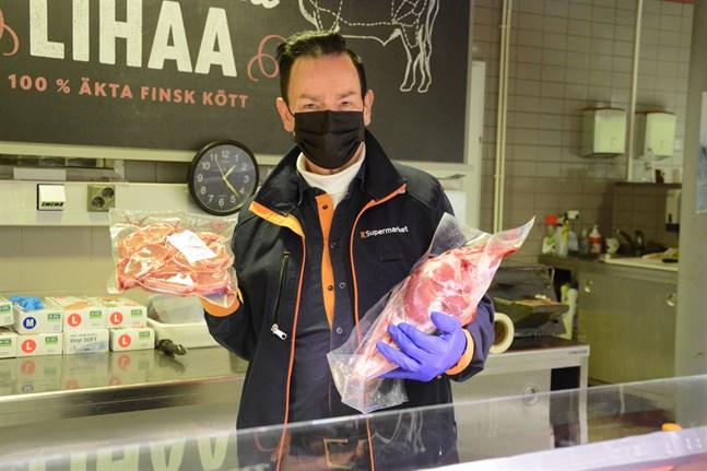 Långfredagen är dagen då det bjuds på lamm hos Reijo Mäki-Ontto.