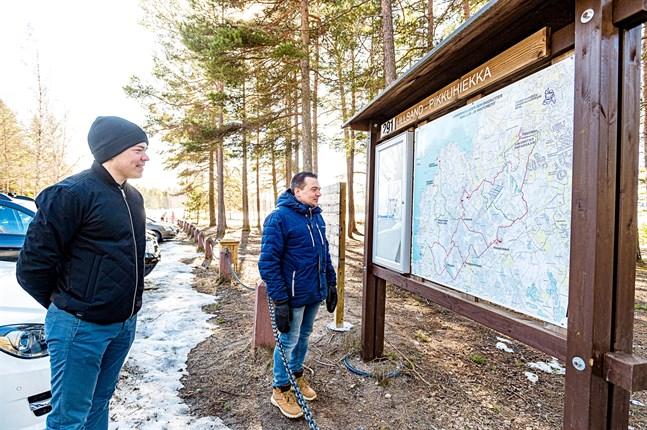 Fäboda är mer än stranden enligt Viljam Knif och Frank Bäcksholm.