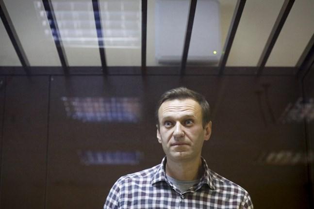 Den fängslade ryske oppositionspolitikern Aleksej Navalnyj har inlett en hungerstrejk. Arkivbild.
