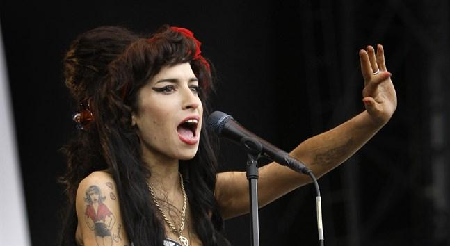 Amy Winehouses mamma gör en ny dokumentär om dotterns liv. Arkivbild.