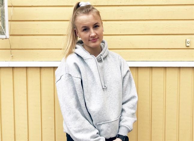 Jenniina Nylund från Jakobstad är med i VM-truppen.
