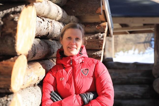 Diana Haldin är legitimerad näringsterapeut och jobbar en dag i veckan för Vasaregionens Idrottsakademi.