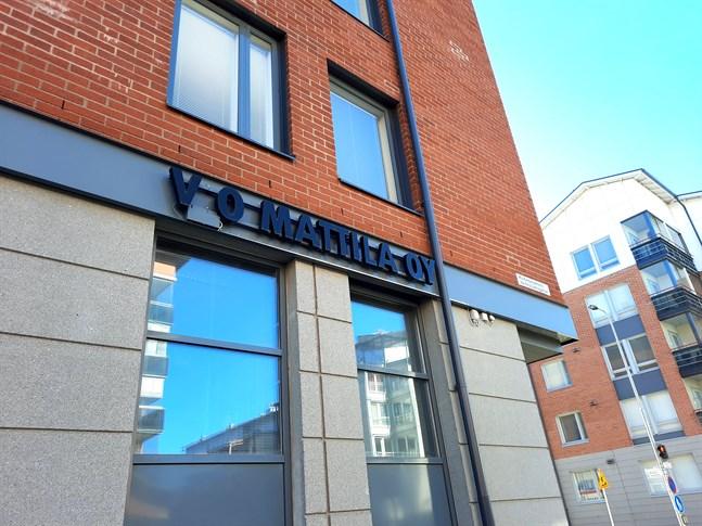 VO Mattila har sitt kontor på Kvarngatan i Vasa.