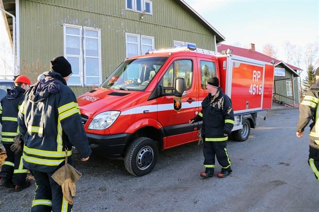 FBK Skatila patrullerade och förberedde för eventuella översvämningar under onsdagen.