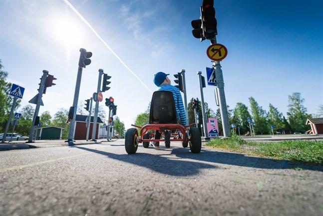 Många städer har redan trafikparker, till exempel Björneborg. Nu drömmer Vasa om en egen.
