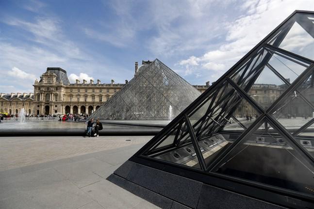 Nu visar Louvren i Paris sina samlingar digitalt. Arkivbild.