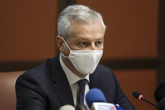 Frankrikes finansminister Bruno Le Maire. Arkivbild.