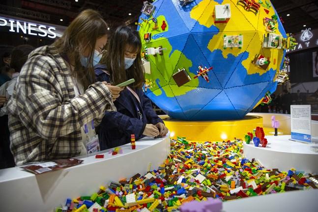 Lego – eftertraktat bland tjuvar.