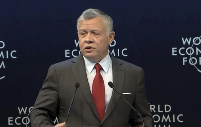 Jordaniens kung Abdullah II. Arkivbild.